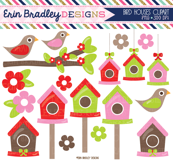 Bird House clipart christmas A Christmas tree Designs: graphics
