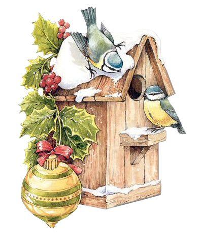 Bird House clipart christmas Pinterest Christmas Christmas 183 best