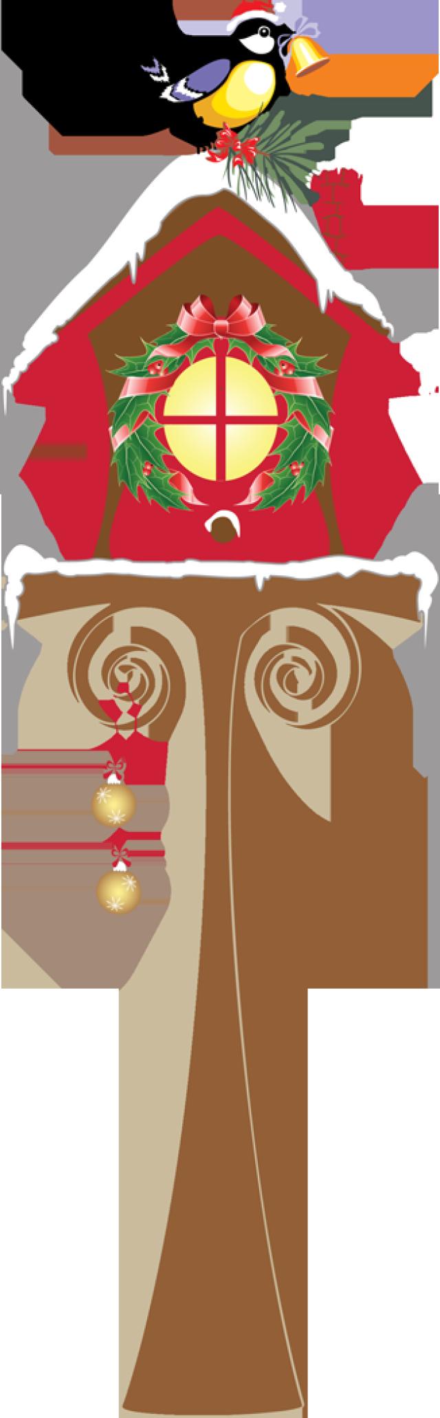 Bird House clipart christmas  2013 ChristmasBirdhouse