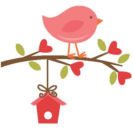 Bird clipart cute Birdhouse Image Clip Download Art