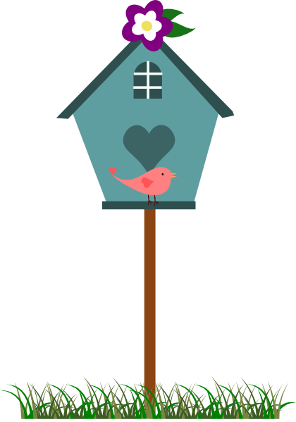Bird House clipart cute mom House Birdhouse Picture Art Free