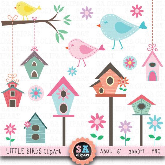 Brds clipart tree house Birds Little Birds House