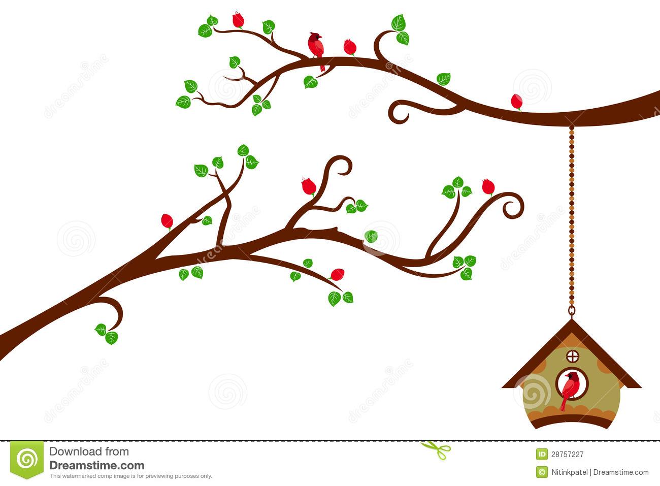 Bird House clipart cute mom Having tree It Bird is