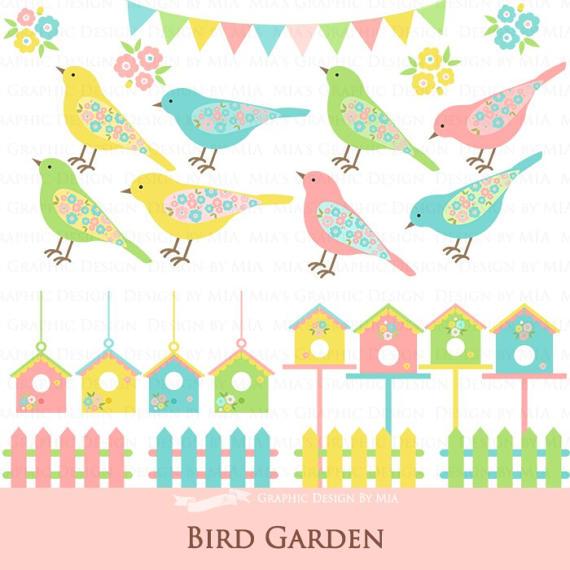 Bird House clipart fence Bird Garden Garden / House