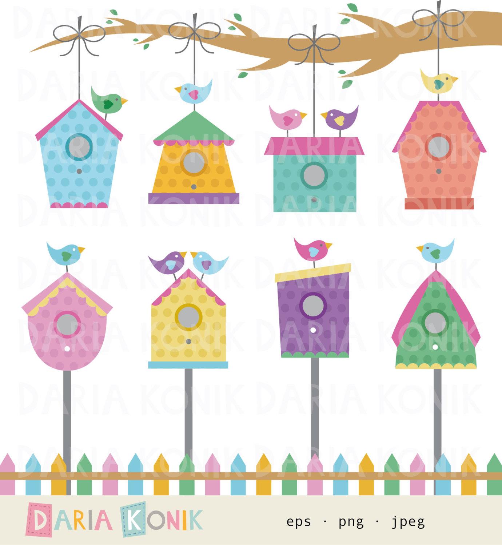 Bird House clipart scrapbook Birdhouse cliparts Clipart Downloads Birdhouse
