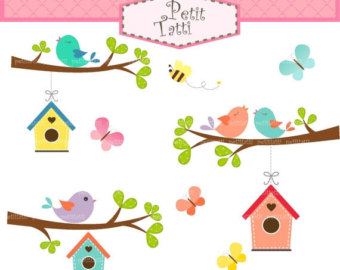 Bird clipart butterfly ON ON Birdhouse SALE clip