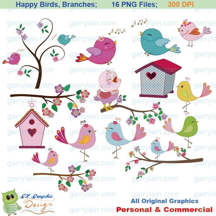 Brds clipart tree house Branch 55 clipart bird blue