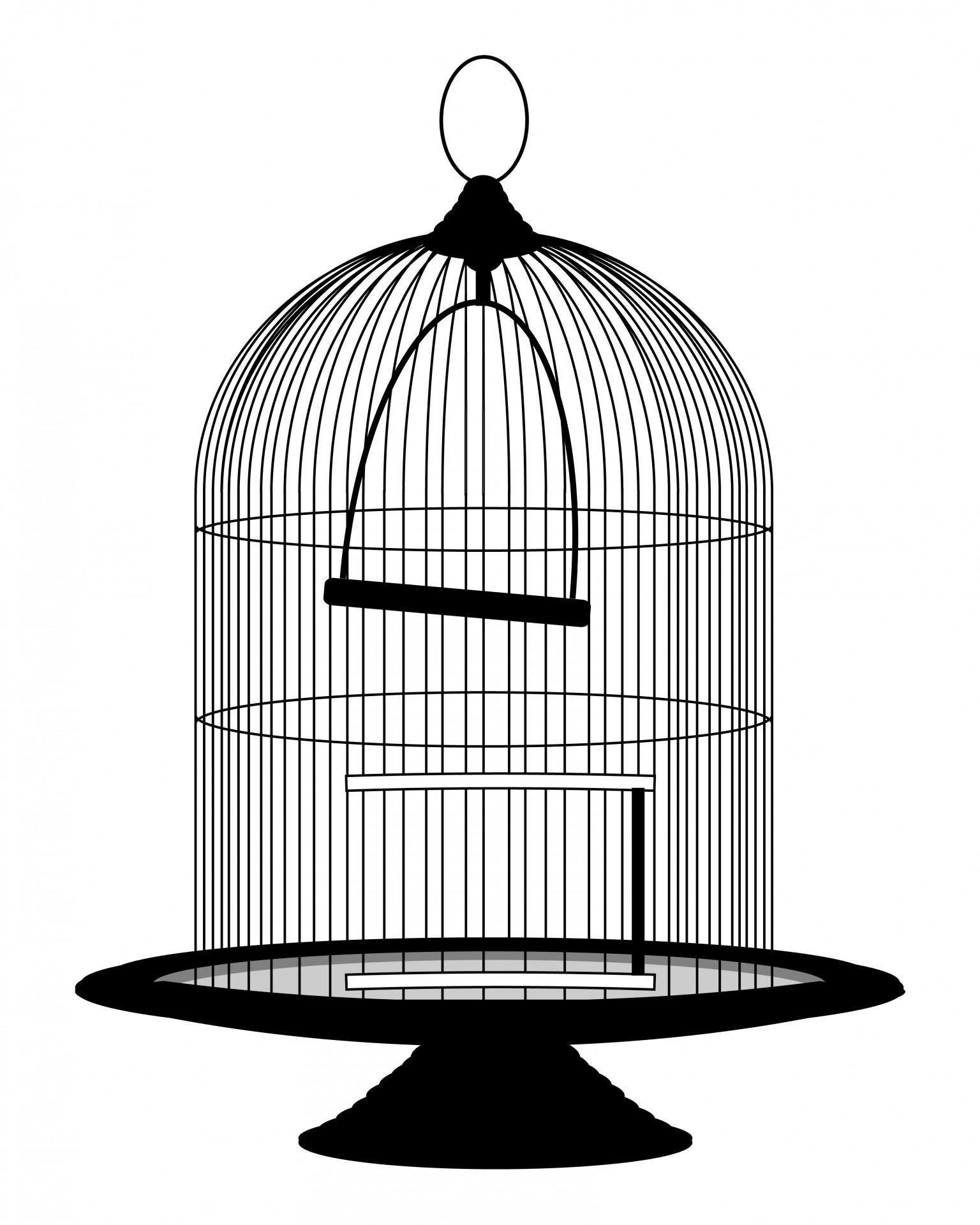 Birdcage clipart  Clipart Vintage Public Birdcage