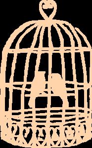 Birdcage clipart Online Clker Birdcage  royalty