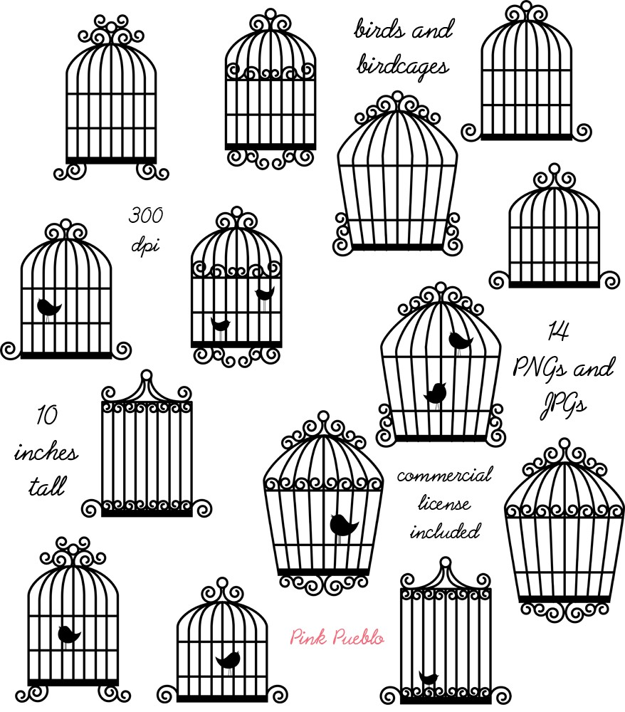 Chandelier clipart hand drawn Birdcage Download clipart clipart drawings