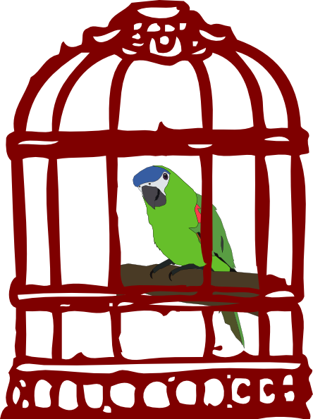 Cage clipart cartoon On images Caged collection clipart