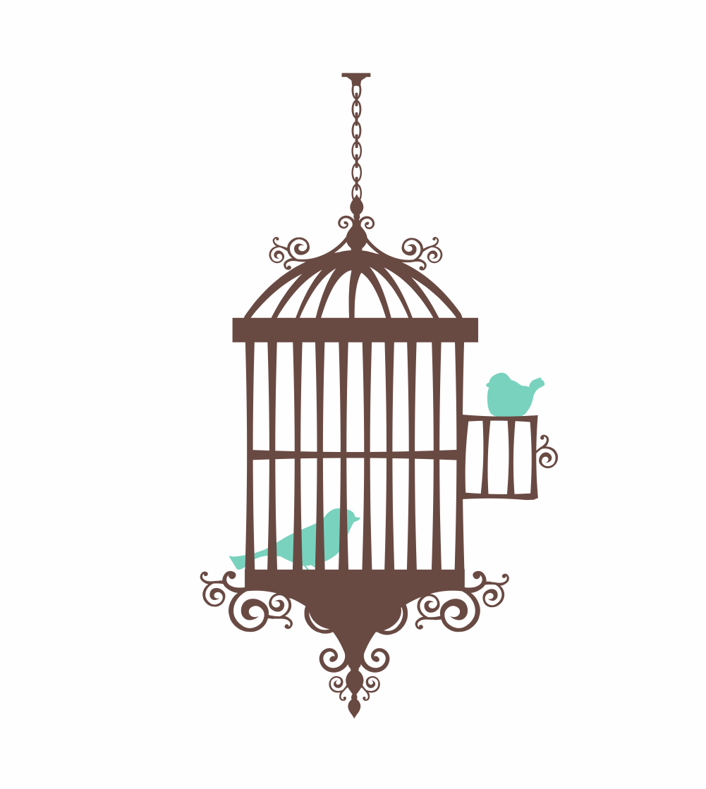 Chandelier clipart hand drawn Bird Clipart cage Clipart collection