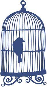 Birdcage clipart open I Siluetas Pinterest the this