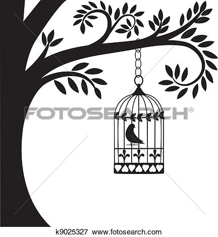 Cage clipart freedom bird Collection cage of Art Clip