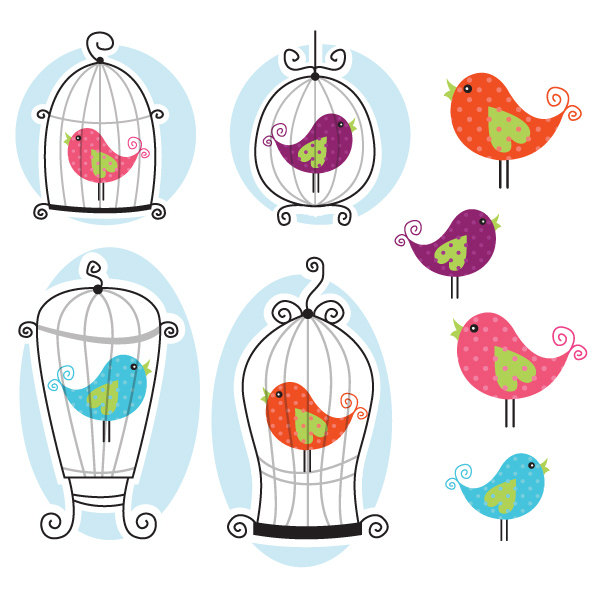 Cage clipart cute And Cage Great Cardmaking Bird