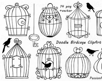 Cage clipart pet bird Cage Wedding Clip clipart Lovebird