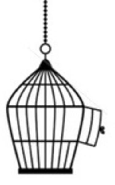 Open Door clipart kitchen window Bird Bird photo#7 Drawing Cage