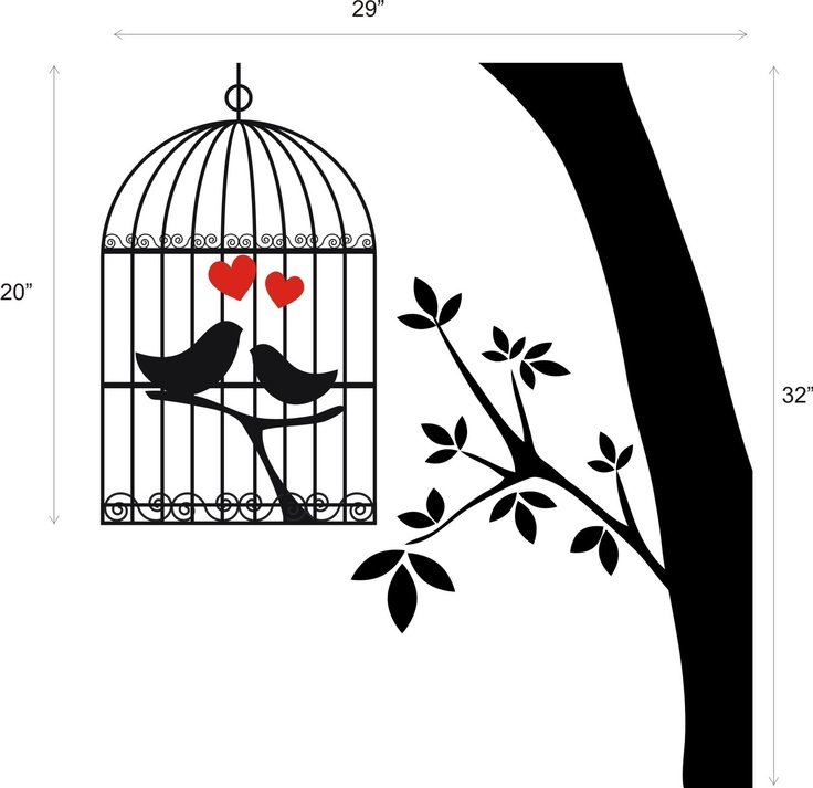 Birdcage clipart love Finish $29 Love Pinterest graphics