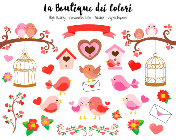 Birdcage clipart red Clipart Graphics PNG Cute Day