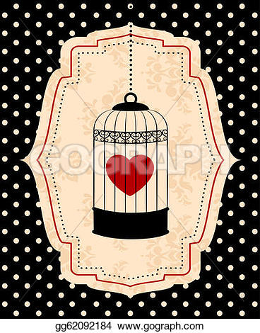 Birdcage clipart red Red  red ornamental birdcages
