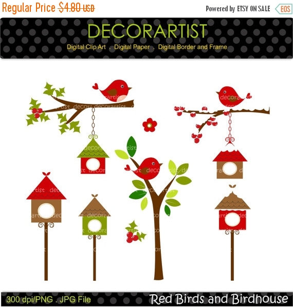 Birdcage clipart red > making from bird ON