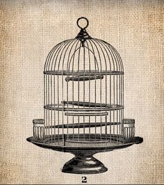 Birdcage clipart round Art Vintage https://www · com/listing/78533731/antique