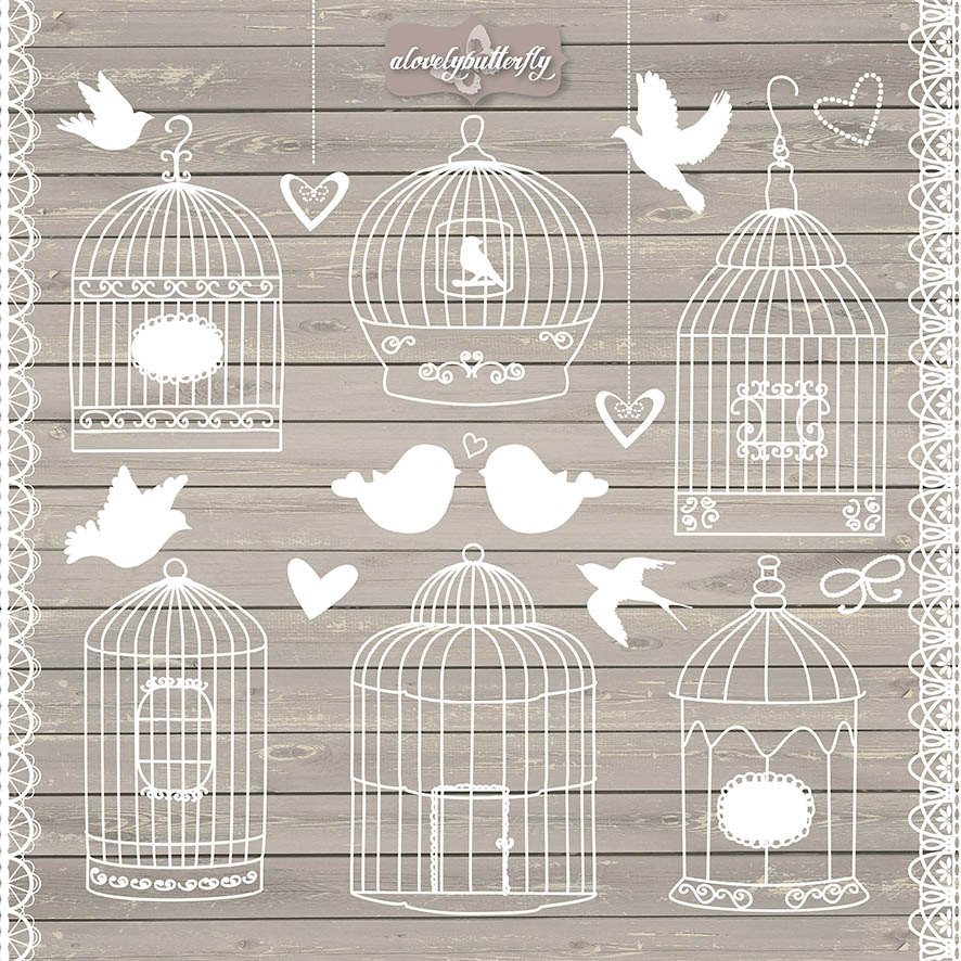 Cage clipart shabby chic File a cage clipart clipart