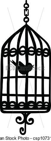 Birdcage clipart vector Of bird Bird Clipart Cage