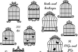 Birdcage clipart vector And Templates Themes art Clipart