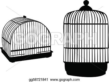 Birdcage clipart vector Birdcage gg58721841 Clipart Birdcage Drawing