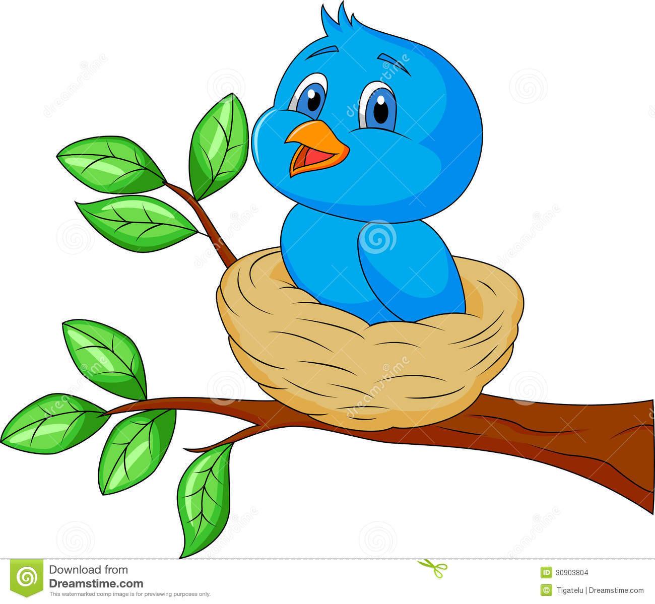 Bluebird clipart mother bird Panda Black Nest Clipart Clipart