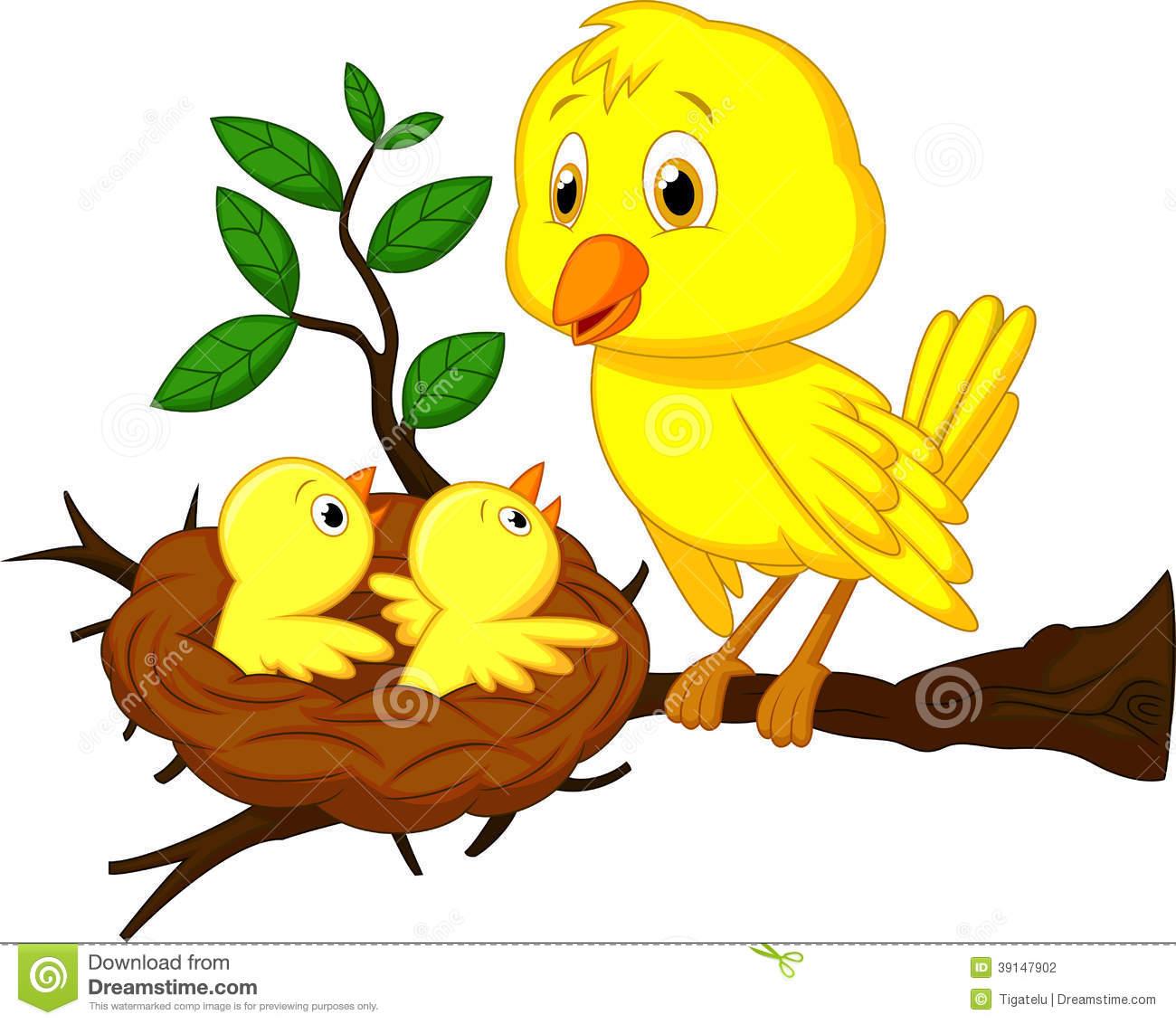Nest clipart animated Nest Cartoon cliparts Clipart Nest