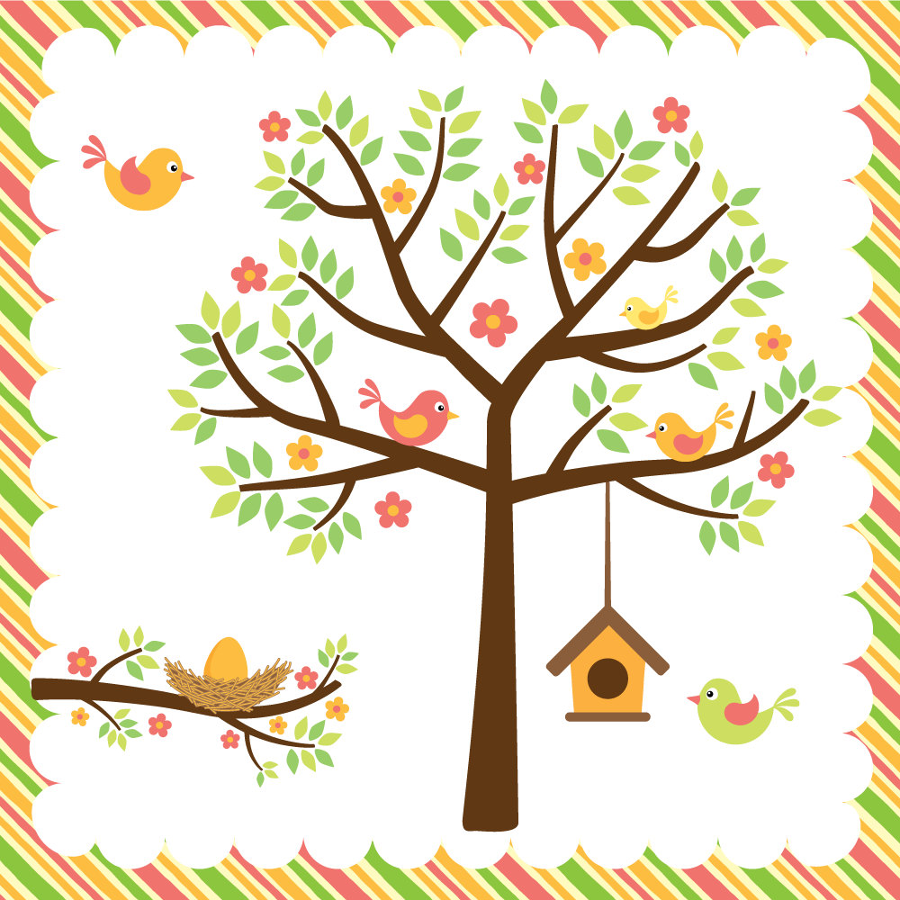 Brds clipart tree house Cute Images Clipart Clipart Free