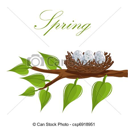 Nest clipart tree drawing Csp6918951 tree Clip of