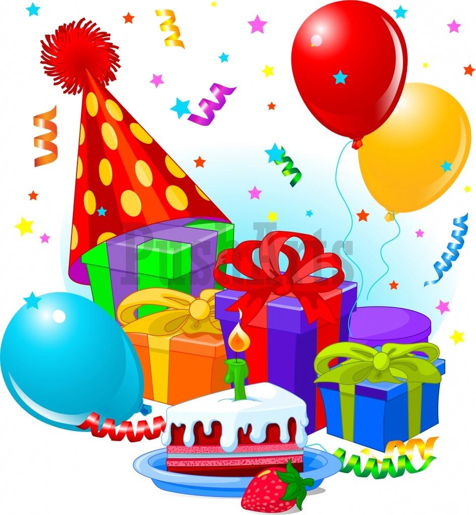 Gift clipart birthday celebration #1