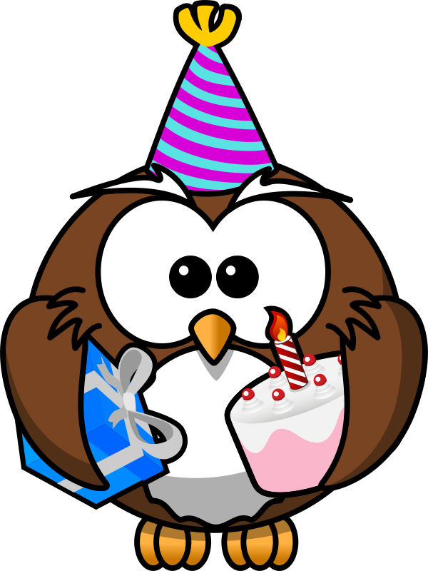 Animl clipart birthday Clipart & Animations Free Vectors