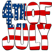 Birthday clipart 4th july Of Day and in July