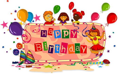 3D clipart birthday cake Birthday Animations kids Clipart for