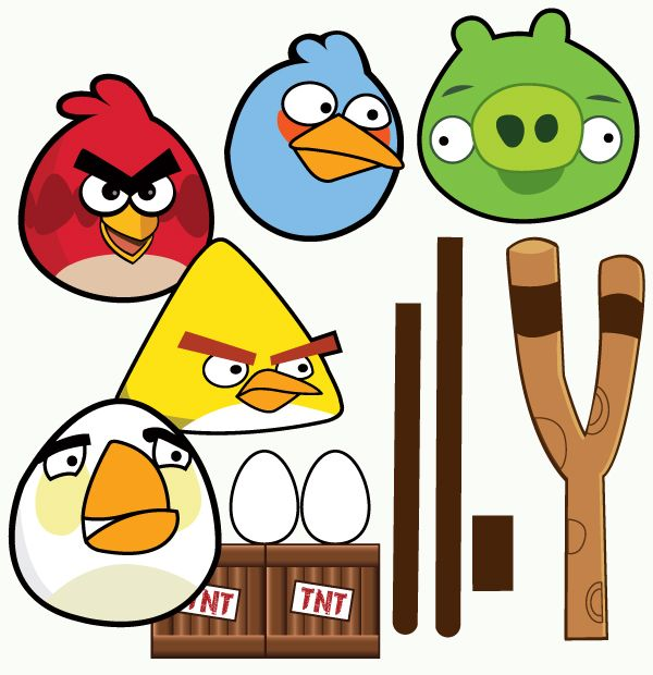 Birthday clipart angry bird Pinterest Ideas Parties} Angry Party