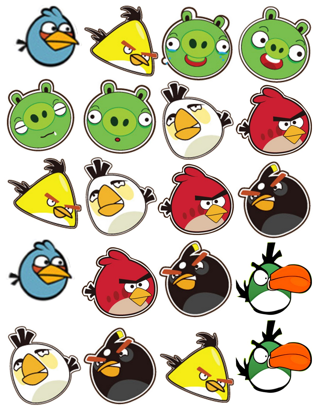 Birthday clipart angry bird CopyCat Maker: Scouting  The