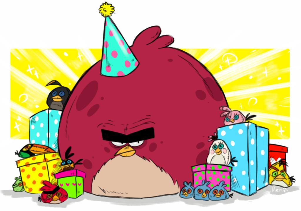 Birthday clipart angry bird BIRDS HAPPY ANGRY BIRDS deviantart
