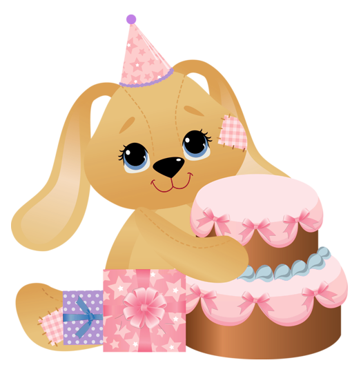 Birthday clipart bunny Bunny Pink Birthday happy Birthday