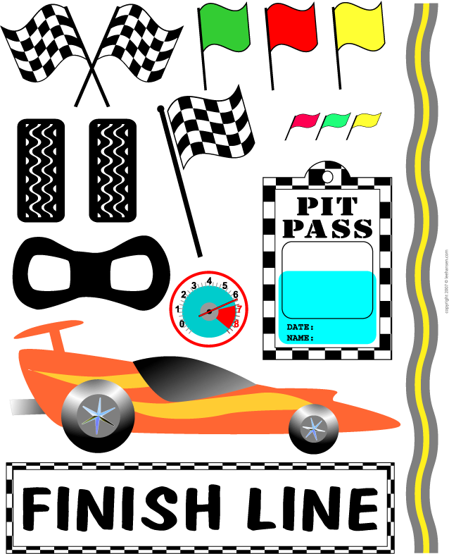 Birthday clipart car Use birthday Race of for