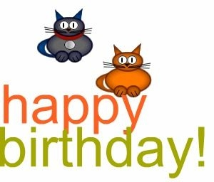 Birthday clipart cat Collection Cat Birthday birthday With