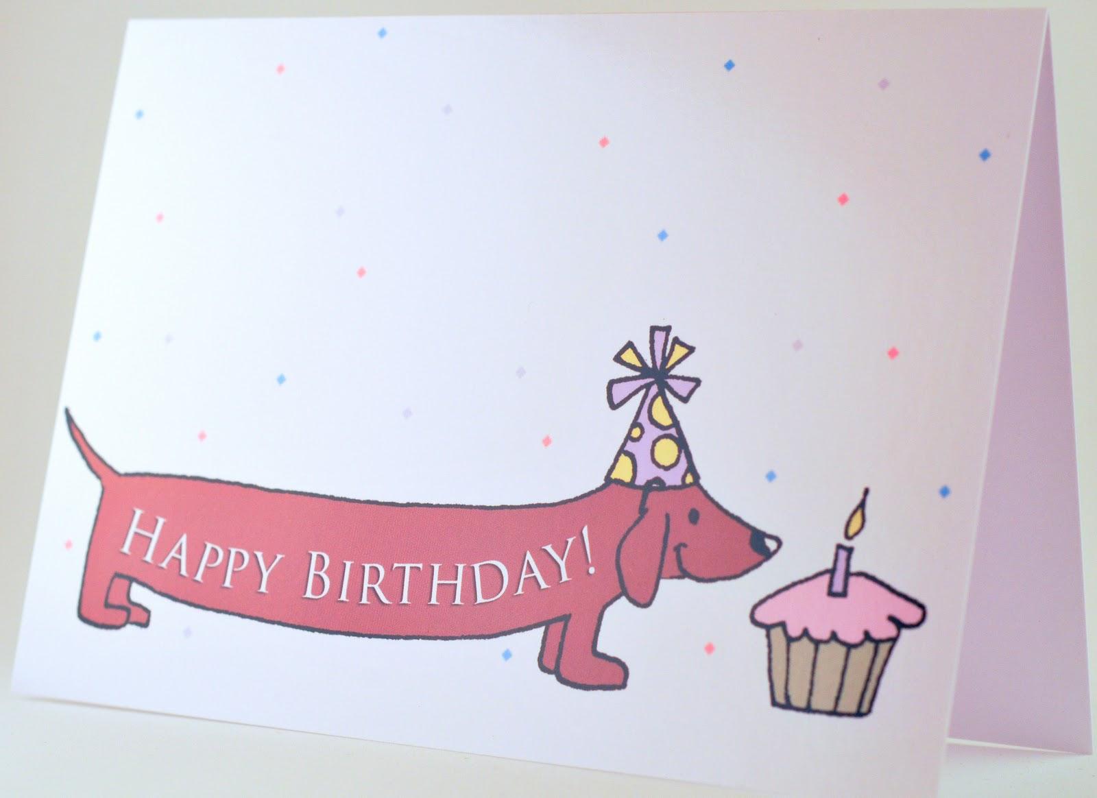 Birthday clipart dachshund Wallpaper  Birthday Dachshund Animals
