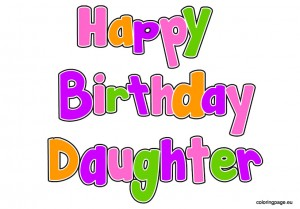 Birthday clipart daughter Daughter  clipart art clip