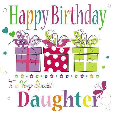 Birthday clipart daughter Messages Birthday Happy Pinterest daughter