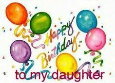 Birthday clipart daughter 25+ birthday happy  on