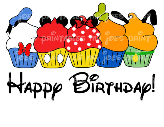 Birthday clipart goofy Wishes 00 disney $5 Digital