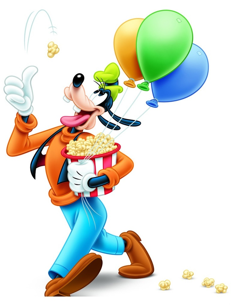 Birthday clipart goofy M by C Pin MAX